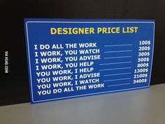 Designers! It's better just to let them do their work!