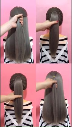 🌟Access all the Hairstyles: - Hairstyles for wedding guests - Beautiful hairstyles for school - Easy Hair Style for Long Hair - Party Hairstyles - Hairstyles tutorials for girls - Hairstyles tutorials Bun Hairstyles For Long Hair, Wedding Guest Hairstyles, Little Girl Hairstyles, Hairstyles For School, Headband Hairstyles, Braided Hairstyles, Beautiful Hairstyles, Hairstyles Videos, Long Hair Video