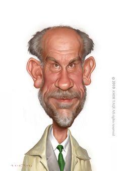 john malkovich | Cartoon: John Malkovich (medium) by Amir Taqi tagged john,malkovich