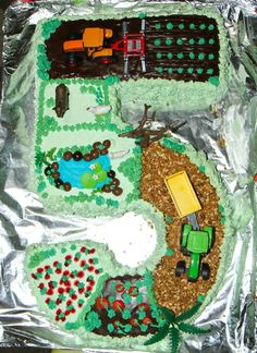 Tarta Tractor - Roi 5 años - Sin gluten