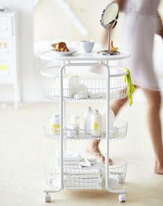 rangement Ikea sur roulettes, collection Sprutt