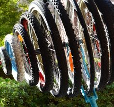 """""""Tires and Spokes"""" by Sean Mueller"""