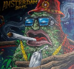 Street art in Amsterdam, 2015