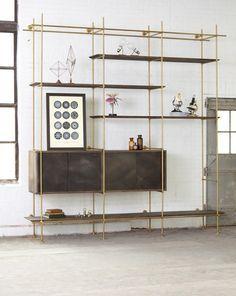 moebeldesign regale einrichtungsbeispiele deko ideen wohnzimmer designermoebel 9