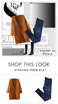 """""""Beautifulhalo #9"""" by ljubicica988 ❤ liked on Polyvore featuring rag & bone, Whiteley and bhalo"""