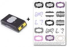 You'll love this!!!   Make printable files to match punches!