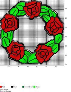 ROSE WREATH by GrannyS Designs