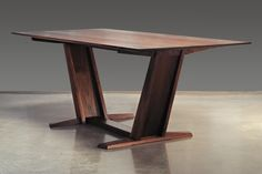 Leaning Trestle | Eben Blaney - Fine Contemporary Furniture