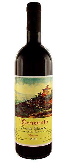 2004 Castello di Monsanto Chianti Classico Riserva - One of my favorites!