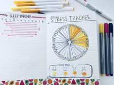 May sleep log and stress tracker #bulletjournal #bujo #bujoinspo #rmbujo #habittrackers