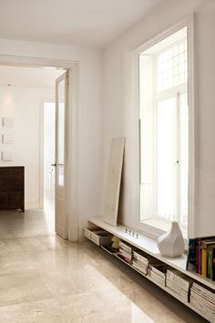 Beige/cream #tile floor for dining room or living room. Seville by ...