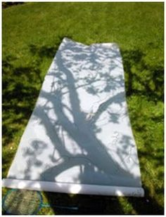 Shadow play is an extension on light investigations that is encouraged in Reggio Emilia. This shadow of a tree is exploring the natural world Outdoor Education, Outdoor Learning, Art Education, Environmental Education, Reggio Emilia, Land Art, Art Et Nature, Nature Crafts, Nature Study