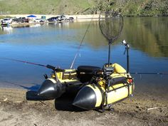 """Advanced FLOAT TUBE RIGGING: Arming the INFLATABLE NAVY for BATTLE!! """"How to"""" w/ pics"""