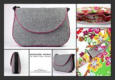 Business Tasche, Messenger Tasche von BELAINE Manufaktur auf DaWanda.com