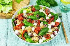 Italian Chicken Salad with Fresh Balsamic Dressing