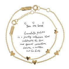 Découvrez le Coffret cadeau bracelets maman et enfant You are loved for - or LENNEBELLE PETITES. Bijoux raffinés mamans enfants. Bracelet étoiles, bracelets coeurs, coffret cadeau baptême, naissance. Cadeau pour maman… l www.little-home.fr