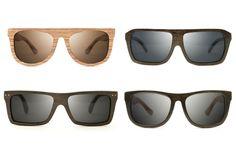 Palo Wood Sunglasses..... i want the top 2