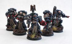 Crimson Fists Space Marines Sternguard Veterans