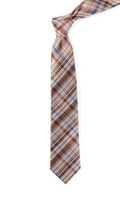 LEGACY PLAID - Brown | Ties, Bow Ties, and Pocket Squares | The Tie Bar