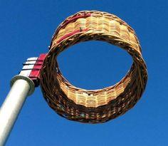 Korfball basket of old Basket, Outdoor Decor, Hamper