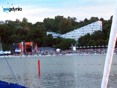 CudaWianki Gdynia widziane z mariny