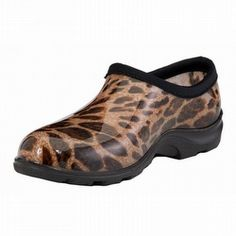 Sloggers Women's Print Garden Shoes. They are fashionable and very comfy.