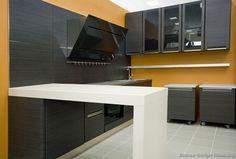 Modern Gray Kitchen Cabinets #10 (Kitchen-Design-Ideas.org)