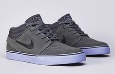 "Nike SB Janoski Mid ""Grey & Purple"""