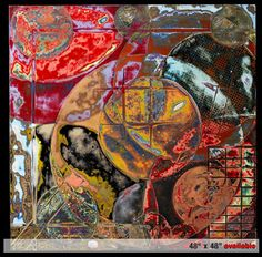 Cuban artist Rey Alfonso integrates his proficiency with metal and his passion for coloration, texture and form in the creation of paintings on aluminum with pure pigments and heat. Little Italy Art Festival, April 28, 29th.