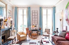 The Secrets to Styling Your Home Like a Parisian via @MyDomaine