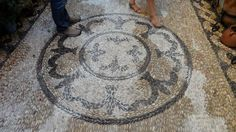 Hand made stone floor, so cool, the pics don´t do it justice!
