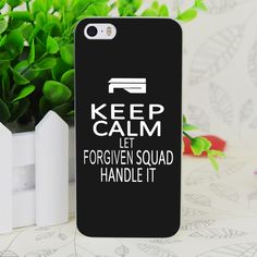 C3832 Forgiven Squad Transparent Hard Thin Case Skin Cover For Apple IPhone 4 4S 4G 5 5G 5S SE 5C 6 6S Plus