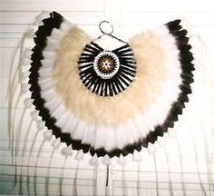 Native American Heritage Feathered Dance Bustle | eBay