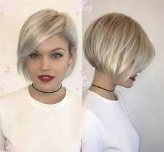 Choppy Bob Hairstyles, Short Pixie Haircuts, Short Pixie Bob, Short Bob Cuts, Longer Pixie Haircut, Short Stacked Hairstyles, Bob Haircut For Fine Hair, Daily Hairstyles, Short Wavy