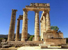 Temple of Zeus, Nemea,Greece 330BC.