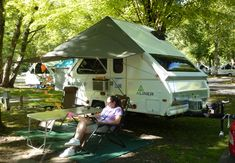 This Is Forest River S Combo Screen Room Awning For A