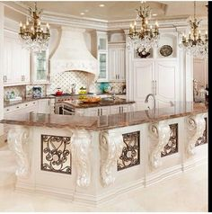 Woodlands Home by Sneller Custom Homes and Remodeling - Luxury Kitchen Remodel Elegant Kitchens, Luxury Kitchens, Beautiful Kitchens, Home Kitchens, Fancy Kitchens, Custom Kitchens, Dream Kitchens, Flur Design, Küchen Design