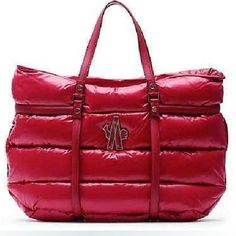 Bag Moncler Rouge Patent Leather