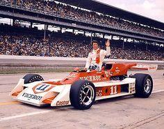 Mario Andretti Viceroy 1973 INDY Indianapolis 500 Car 8x10 Photo