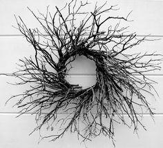 stick wreath by heidipiccerelli, via Flickr