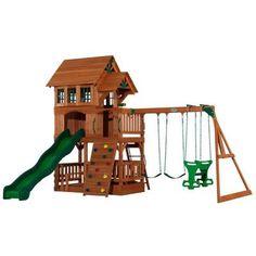 Backyard Discovery Liberty All Cedar Play Set