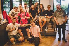 "Team 10 on Instagram: ""We ❤️ our family // @emiliovmartinez @ivanmartinez @jakepaul @imanthonytruj @imchancesutton @tessabrooks @erikacostell @thenickcrompton…"""