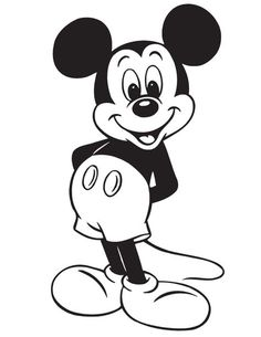 Free Printable Mickey Mouse Coloring Pages For Kids Arts Crafts