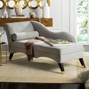 baxton studio pease faux leather upholstered crystal button tufted chaise lounge white products pinterest products