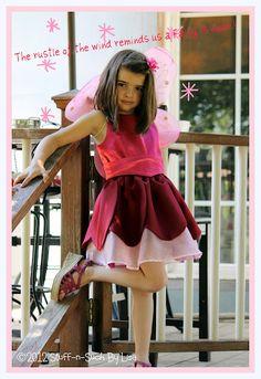 So sweet Tinkerbell Rosetta Fairy costume