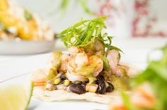 Grilled Shrimp Tacos. From Básico at Mixson Bath & Racquet Club in North Charleston, South Carolina. Photo by Paul Cheney.