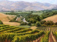 painting vineyard | vineyard-painting-086