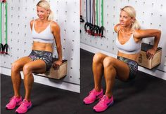 Tricep dips - moves for a firmer bust - PHOTO - Women's Health & Fitness