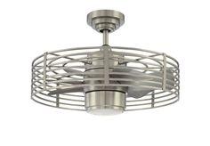Trent Austin Design Glasgow Enclave 7 Blade LED Ceiling Fan with Remote, Light Kit Included Fan Light, Ceiling Lights, Filament Design, Ceiling, Ceiling Fan With Light, White Glass, Light, Modern Ceiling, Glass Lighting