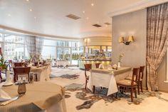 Klassisch modernes Ambiente im CALLA, dem euro-asiatischen Gourmetrestaurant im Sonnenhof.